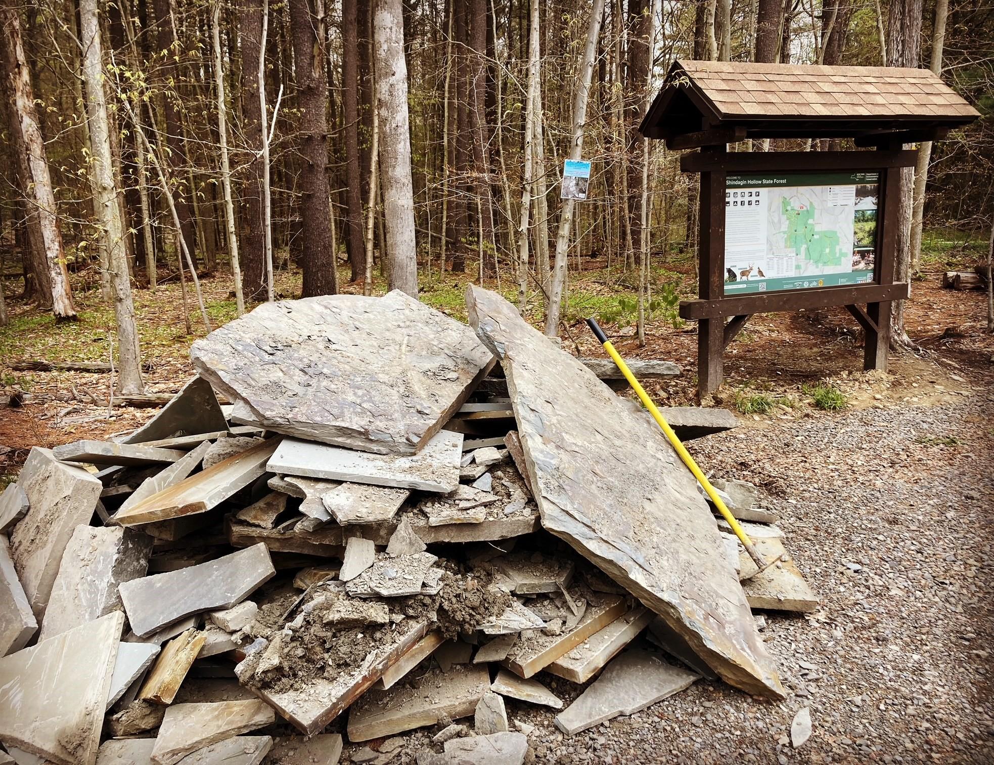 Shindagin Hollow Trail Work, Saturday May 22